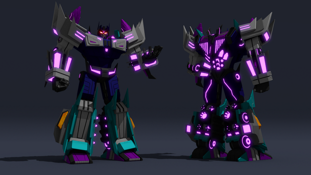 War for Cybertron Overlord by ShadowElite217