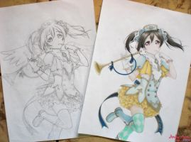 Yazawa Nico - Love Live! #02 by Andy-chanWantToDraw