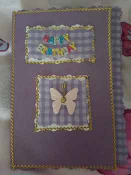 Simple birthday card. by MadameButterfly94