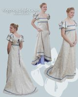 Regency gown by lasmith