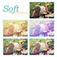 Soft - Free Photoshop Actions by iemai