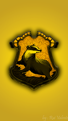 Hufflepuff - COLOR Wallpaper HD Smartphone by ruivalente