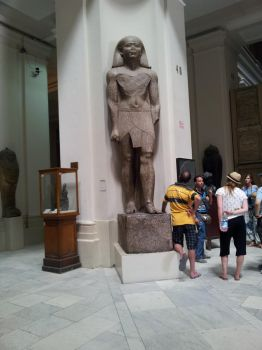 at a Museum in Egypt by MaramShabana