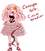 Aradia Circus Stuck concept by xXimmaeatjooXx