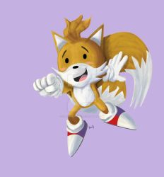 TAILS FROM SONIC TOONED UP SPEED DRAWING +VID by IDROIDMONKEY