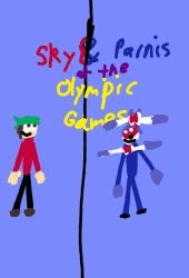 S: Sky and Parnis at the Olympic games by skymonkeycaleb1