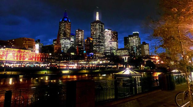 Melbourne, A City Of Unexpected Twists No.1 by Nicki3366