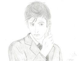 10th Doctor by 19ana89