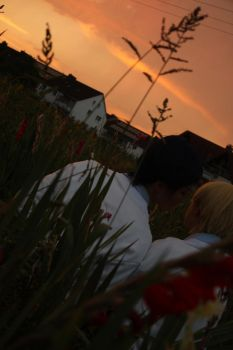 AoKise: Sunset by LordWolfram