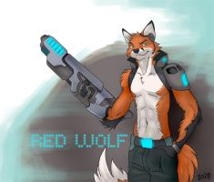RED WOLF by 2078