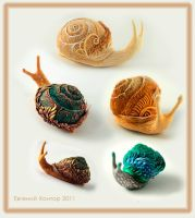 snails by hontor