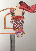 Courtney gets Dunked On by moguera2013