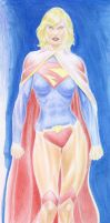 Supergirl DSC Color Sketch Update by AlAyos