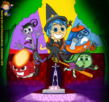 Escape from Subconscious! (Inside Out Halloween) by EricVonSchweetz