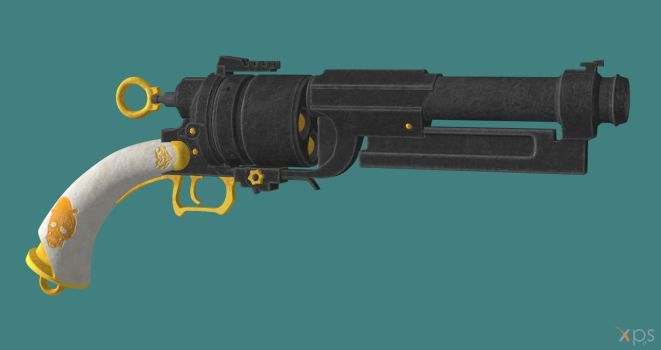 Steampunk Revolver for XPS by Aequitas-Imperator