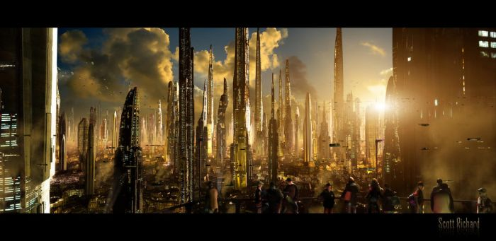 Matte Future City 121611 by rich35211