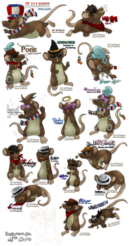 .: Transformice's Mice. by Meoxie