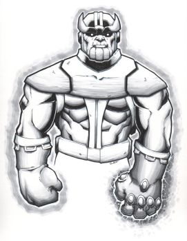 Thanos, final product by Paterack
