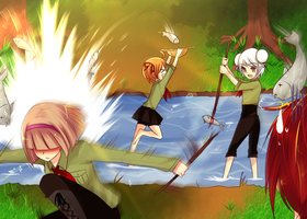 D.o.N Camping Trip Event 2 by Raeyxia