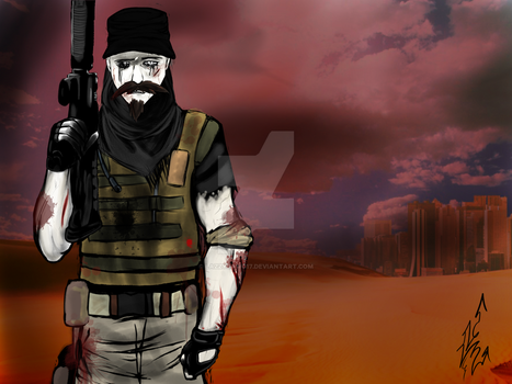 TheHauntedReader Spec Ops Commission pt3 by LazzyDawg17
