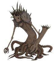 Tree Monster by Geocranium