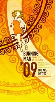 Event Posters - Burning Man 2 by Jandalf