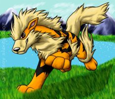 Arcanine -Reposted- by nikeetah