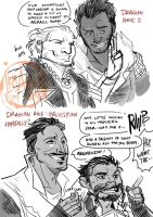 DA: I - Mages and Rogues by aimo