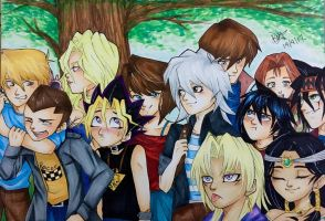 Yu-Gi Oh! Gang Part2 by Brookestar4