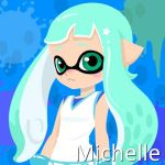 Michelle the Inktoling (Inkling Version) by Brightsworth-Heroes