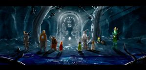 Gates of Moria by themico