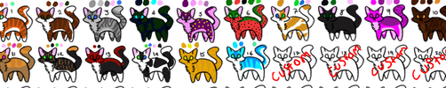 cheap Cat Adopts (OPEN 3/20) by brigetmiget