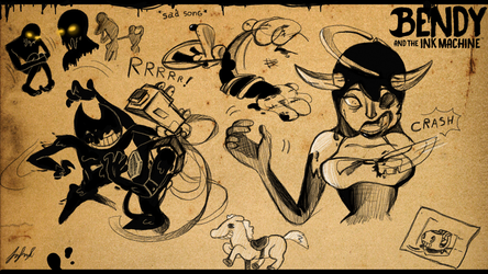Bendy and the Ink Machine Chapter 4 by fnafmangl