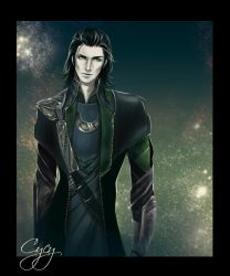 loki marvel comics by OrenMiller