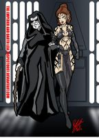 The Emperor and Darth Leia by Inspector97