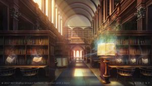 Grand magical library by giaonp