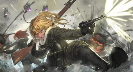 Youjo Senki by DigitalOme