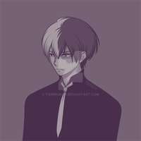 Shouto Todoroki by tonerukun