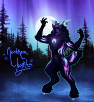 Woolyne Winter Advent: Northern Lights (CLOSED) by Verlidaine