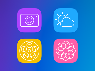 IOS icons pt2 by AndreyRudenko