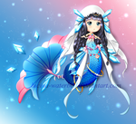 New Crystella OC Nanami by Lucina-Waterbell