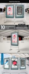 Stand Poster Mock-Ups by StreetD