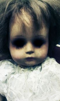 Scary Doll by theoracleofdreams