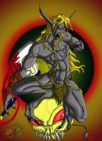 The Grey Drow of Blood  Valia by Zecon