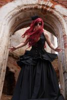 Gothic Queen 11 - female stock by Dea-Vesta