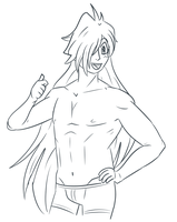 Gourry Can Give A Thumbs Up Too by IWSTW