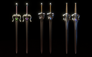 MOTU - Power Swords by paulrich