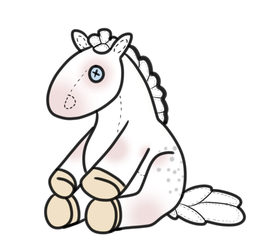 Plushie YHH - Ever by angry-horse-for-life