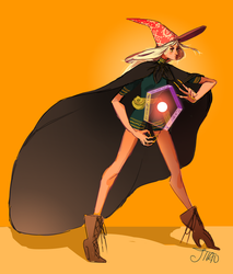 Witch by JllAO