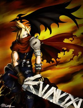 Cloud Strife by fevereon